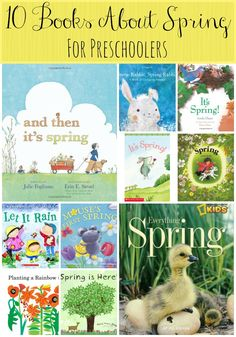 10 Books About Spring for Preschoolers