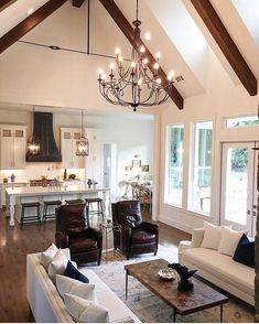 6 Dos and Don'ts of living room remodeling Open Kitchen And Living Room, Home Decor Kitchen, Home Living Room, Chaise Ikea, Living Room Remodel, Home And Deco, Home Fashion, Great Rooms, Home Remodeling