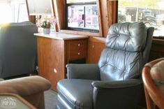 Bus Detail FSBO - Bus for Sale Used Bus, Buses For Sale, Recliner, Lounge, Detail, Chair, Furniture, Home Decor, Airport Lounge