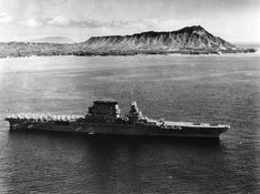 World War II: USS Lexington (CV-2): USS Lexington (CV-2), February 1933