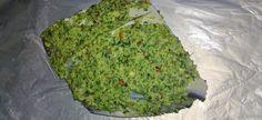 steam fish in green chutney