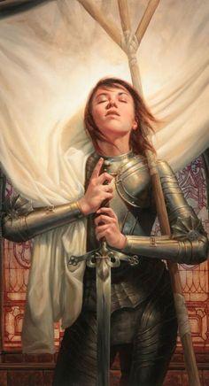 Faith. For the Lady Paladins archive. Joan D'arc.