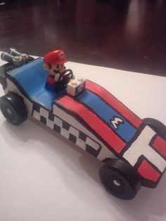 Cub Scout Pinewood Derby - Mario