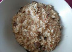 Risotto de bacon y setas para #Mycook http://www.mycook.es/cocina/receta/risotto-de-bacon-y-setas