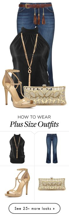"""""""Untitled #15799"""" by nanette-253 on Polyvore featuring Zizzi and MICHAEL Michael Kors"""