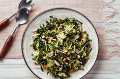 Kale Salad with Brussels Sprouts, Apples, and Hazelnuts. Epicurious November 2015.