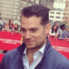 OK here's another one as you seem to like him so much #henrycavill #film4 @themanfromuncle