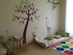 1001 ides pour amnager une chambre montessori montessori and bebe - Chambre Bebe Beige Et Gris