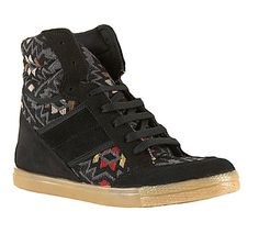 TOPSHOP ACROBATICS Navaho Wedge Hi-Tops