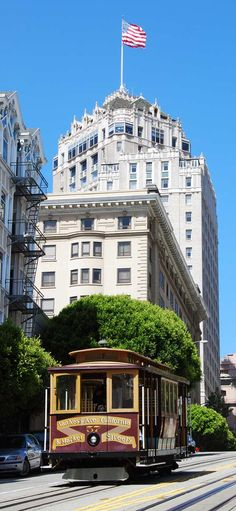 San Francisco, showing Top of the Mark, Mark Hopkins Hotel with awesome watering hole up top. San Francisco City, San Francisco California, California Dreamin', Concert Jazz, Places To Travel, Places To See, Destinations, Alaska, Travel Around The World