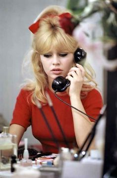 "Brigitte Bardot in ""A Ravishing Idiot"", 1963"