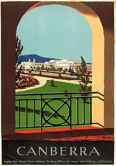 vintage travel poster by percy trompf. Cairns, Bucket Lists, Travel Gallery Wall, Posters Australia, Australian Vintage, Tourism Poster, Australia Travel, Perth Australia, Iconic Australia