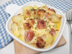 Grandma's Cheesy Potatoes Cheesy Potato Casserole, Potatoe Casserole Recipes, Potato Recipes, Vegetable Recipes, Veggie Casserole, Potato Sides, Potato Side Dishes, Cheese Potatoes, Baked Potatoes