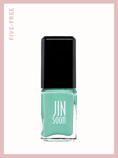 Jinsoon nail polish in Keppel, $18, jinsoon.com.  Free of: Formaldehyde, toluene, DBP, formaldehyde resin, and camphor.   Photo: Courtesy of Jinsoon