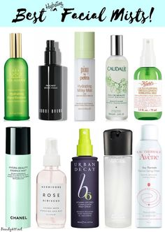 Best Hydrating Facial Mists...keep one in your gym bag...so refreshing after a workout!