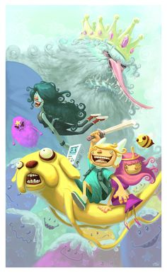 Adventure Time by ~thurZ on deviantART