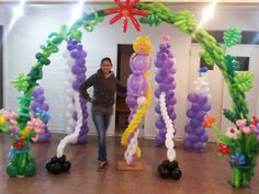 Rapunzel. Enredados. Tangled balloons