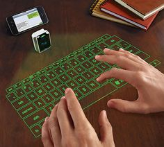 Laser Projection Virtual Keyboard | COOLSHITiBUY.COM