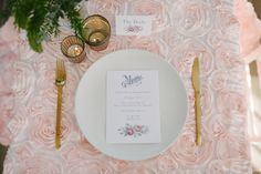 Peony Satin Table Runners  Blush Pink or Cream