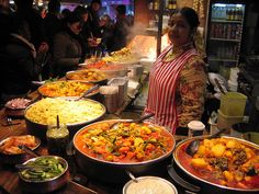 Indian food, Camden Market, London by larizzo1111, via Flickr