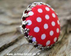 #Rockabilly - Ring  von www.Schmuckkistl.de auf DaWanda