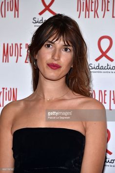 Jeanne Damas attends the Sidaction Gala Dinner 2017 - Haute Couture Spring Summer 2017 show as part of Paris Fashion Week on January 26, 2017 in Paris, France.