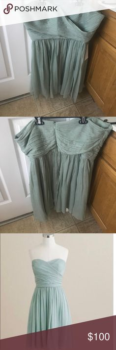 J. Crew strapless bridesmaid dress. Size 18, never used. Bought as back up dress. Still has tags on it. J. Crew Dresses Wedding