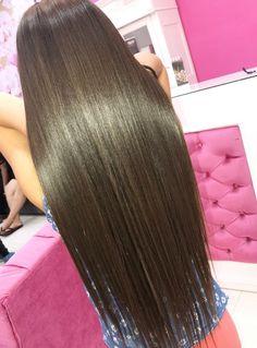 Long Silky Hair, Super Long Hair, Shiny Hair, Dark Hair, Love Your Hair, Beautiful Long Hair, Layered Cuts, Hair Goals, Straight Hairstyles