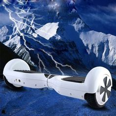 White Smart Scooter Self Balancing Electric Unicycle Scooter balance car 2wheels #Unbranded