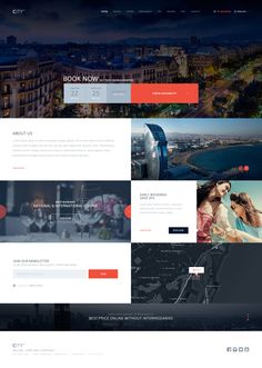 Hotel website concept                                                       … Web Hotel, Web Dashboard, Hotel Concept, Modern Website, Tourism Website, Hotel Website, Wordpress Theme Design, Web Layout, Travel And Tourism
