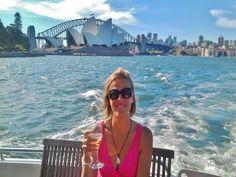 Sunset Cruise on Sydney Harbour, Australia - top tips on the blog: http://www.ytravelblog.com/things-to-do-in-sydney-2/