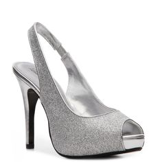2c44eb616fd Lulu Townsend Bridal Nightout Pump High Heel Pumps Pumps   Heels Women s  Shoes - DSW- comes in silver satin or silver sparkle