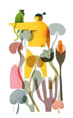 Momotato - Philip Giordano illustration