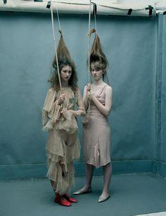 Hot and Cool Issue 10 Photographer - Tim Walker Fashion editor / stylist - Alice Goddard Hair Stylist - Cyndia Harvey Makeup artist - Lucy Burt