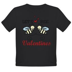 Lets Bee Valentines  Holiday Organic Toddler T-Shirt dark by CafePress - nice #Valentine'sDaysGifts# ideas