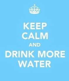 Beber agua!