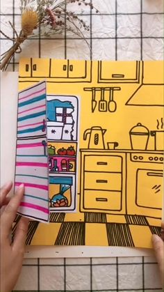 Paper Crafts Origami, Paper Crafts For Kids, Cardboard Crafts, Craft Stick Crafts, Art N Craft, Preschool Crafts, Diy Crafts For Girls, Diy Crafts Hacks, Halloween Crafts For Kids