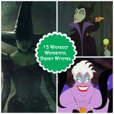 From the good to the bad and the unbelievably ugly, celebrate these magical ladies with a cauldron full of creative crafts and recipes. #Disney