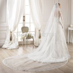 Aliexpress.com : Buy V0004 5 meter tulle fabric lace ivory ...
