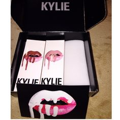 Kylie Lipkit by Kylie Jenner Two colors available! Mary Jo and Koko K. Separately 75$ together $150 ️️. !!! Never been used or opened in box! NO TRADES SORRY! Kylie Lip Kit Makeup Lipstick
