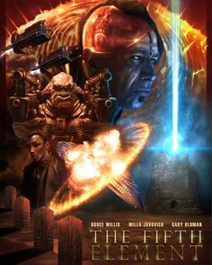 The Fifth Element by Casey Callender