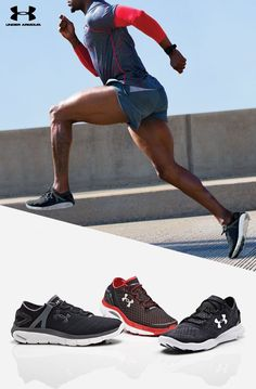 Under Armour Men's Running Shoes. From the UA SpeedForm Apollo to the UA SpeedForm Gemini, whatever he wears he'll be unstoppable in them.