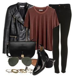 Style #11388 by vany-alvarado on Polyvore featuring polyvore, fashion, style, Madewell, H&M, Topshop, Mulberry, maurices, Ray-Ban and clothing