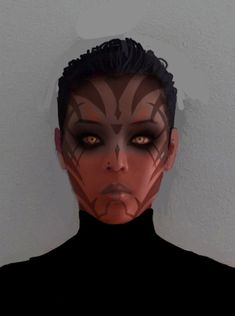 sith make up test by songjong on deviantART