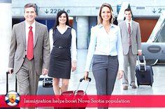 Immigration helps boost Nova Scotia Population