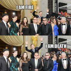 Benedict Cumberbatch @Oscar Saul 2014 <3