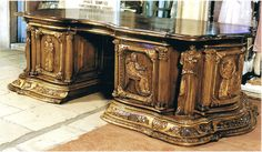 images of desks | Email us about this incredible desk. The Ancient Greek themes are ...