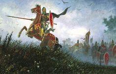 Peresvet on the Kulikovo Field Best Canvas, Russian Folk, Marvel, Medieval Art, Dark Ages, Historical Pictures, Conte, Art History, Mythology