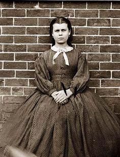 Civil War era girl