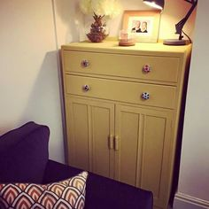 Frenchic Lazy Range - Hot as mustard Paint Furniture, Furniture Projects, Rubber Flooring, Upcycled Furniture, Lazy, Mustard, Bathrooms, House Ideas, Lounge
